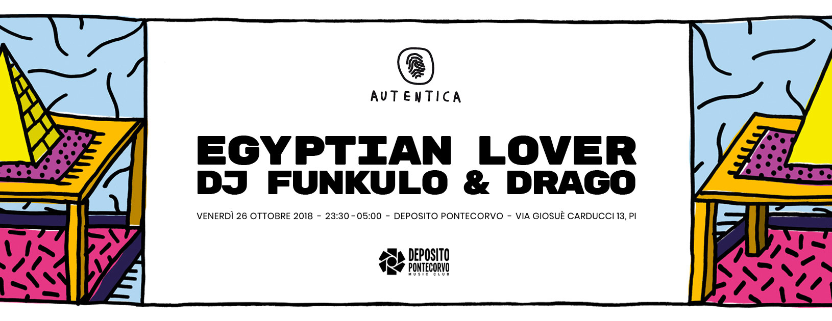 Autentica & Deposito Pontecorvo W/ Egyptian Lover