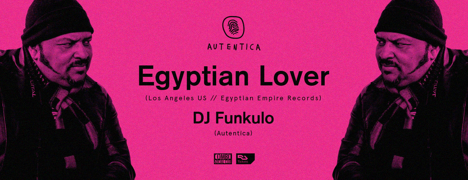 Autentica pres. Egyptian Lover