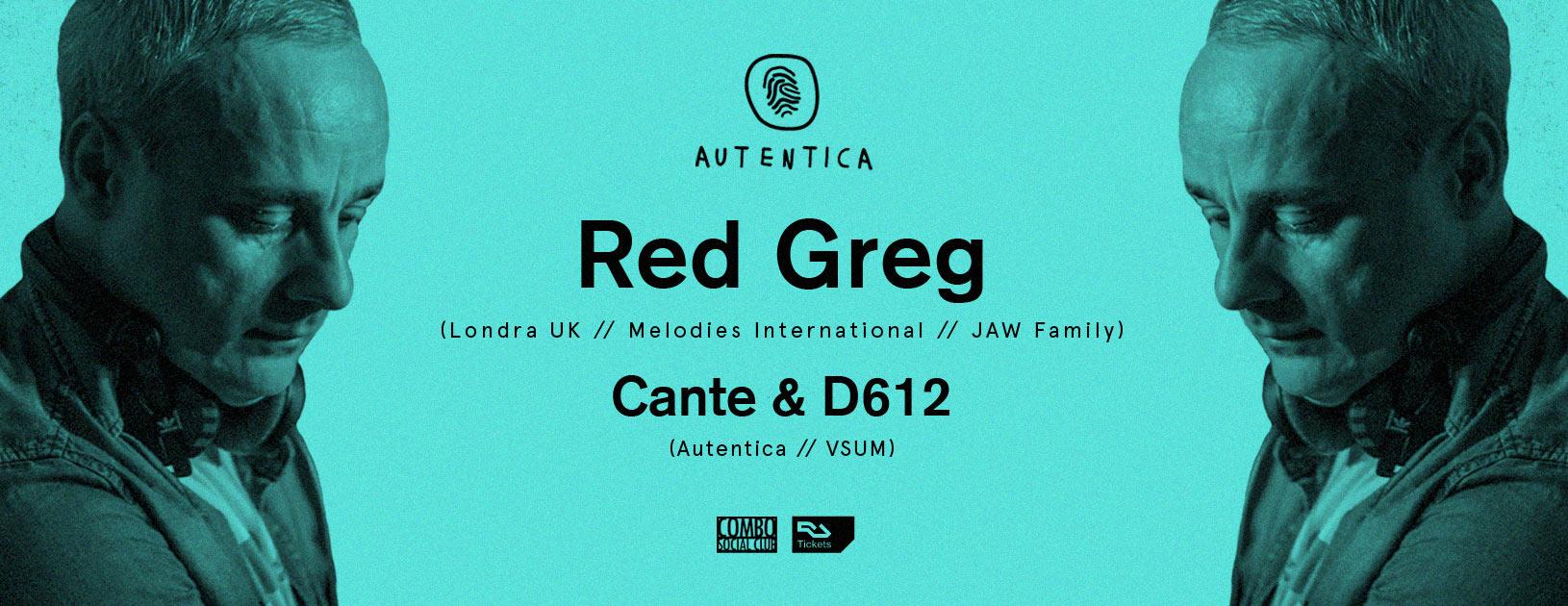 Autentica 5th Anniversary w - Red Greg